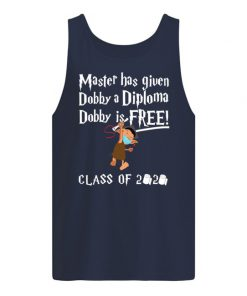 Master has given Dobby a diploma Dobby is free Class of 2020 Tank top
