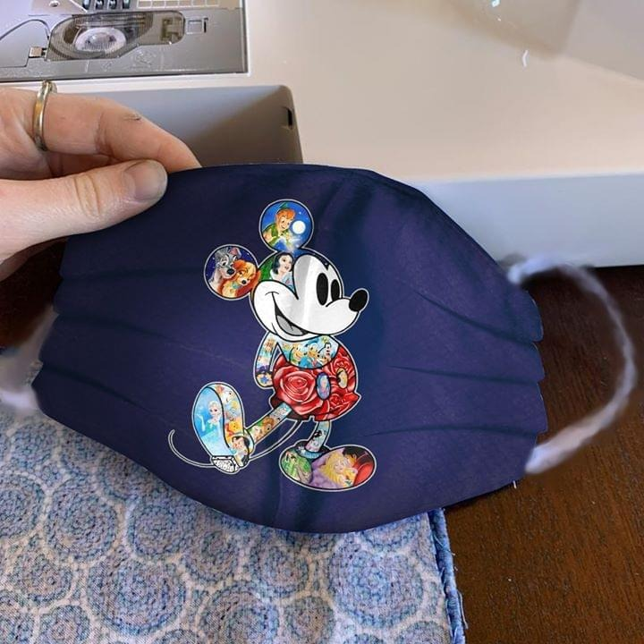 Mickey Mouse Disney Characters cloth mask 0