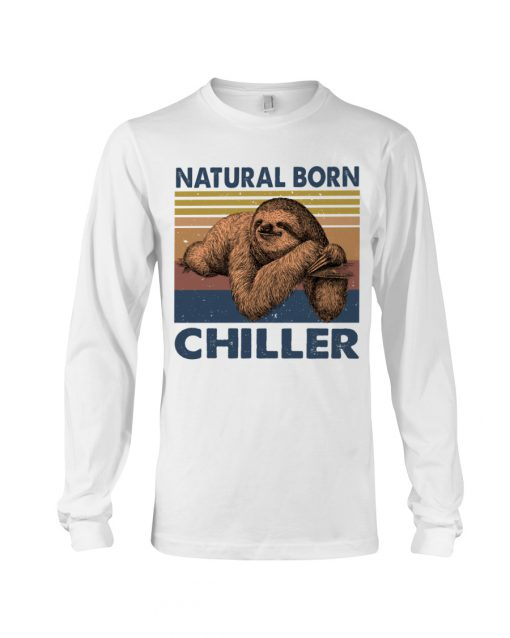 Natural Born Chiller Sloth long sleeved