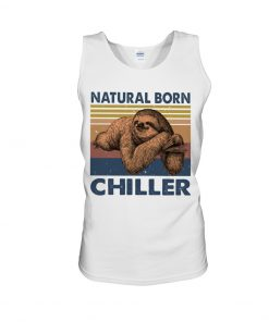 Natural Born Chiller Sloth tank top