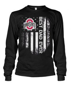 Ohio State Buckeyes Best dad ever Long sleeve