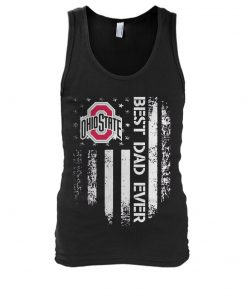 Ohio State Buckeyes Best dad ever tank top