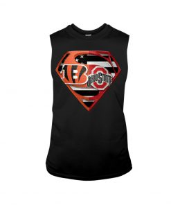 Ohio State Buckeyes and Cincinnati Bengals super team tank top