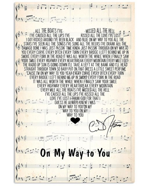 On My Way to You Lyrics Cody Johnson poster