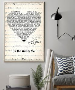 On My Way to You Lyrics Cody Johnson poster1