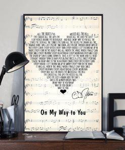On My Way to You Lyrics Cody Johnson poster2