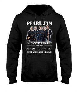 Pearl Jam 30nd Anniversary 1990-2020 Hoodie