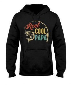 Reel Cool Papa Fishing vintage Hoodie