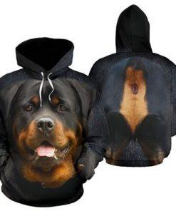 Rottweiler Dog 3D hoodie