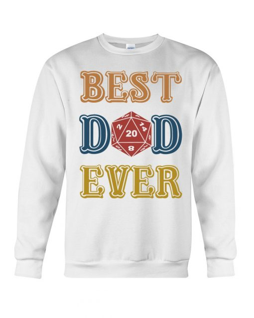 Ruby Dragon Best Dad Ever Sweatshirt