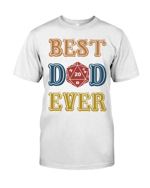 Ruby Dragon Best Dad Ever T-shirt