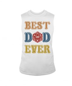 Ruby Dragon Best Dad Ever tank top