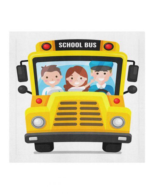 School Bus cloth mask 2