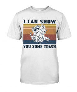Show You Some Trash Raccoon Retro shirt