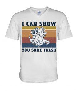 Show You Some Trash Raccoon Retro v-neck