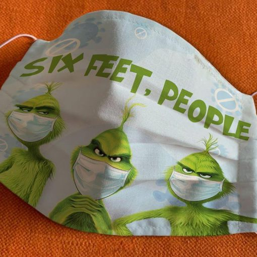 Six Feet People Grinch mask 2
