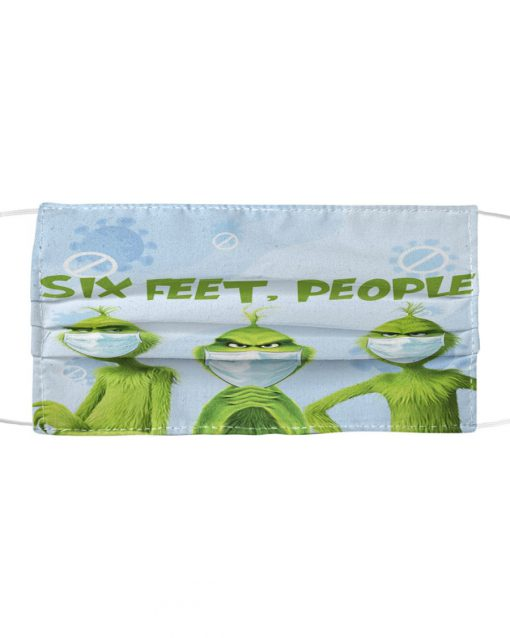 Six Feet People Grinch mask