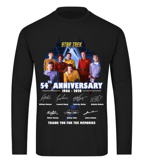 Star Trek 54th Anniversary Long sleeve