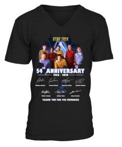 Star Trek 54th Anniversary V-neck