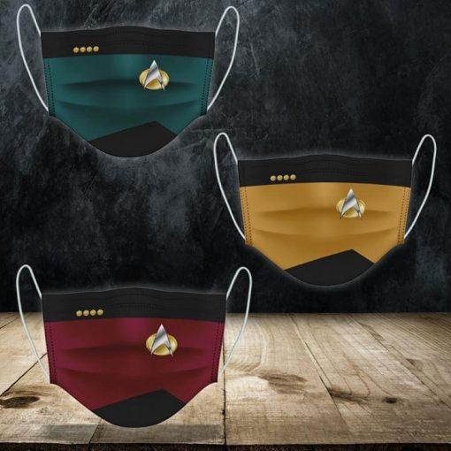 Star Trek Symbol cloth mask