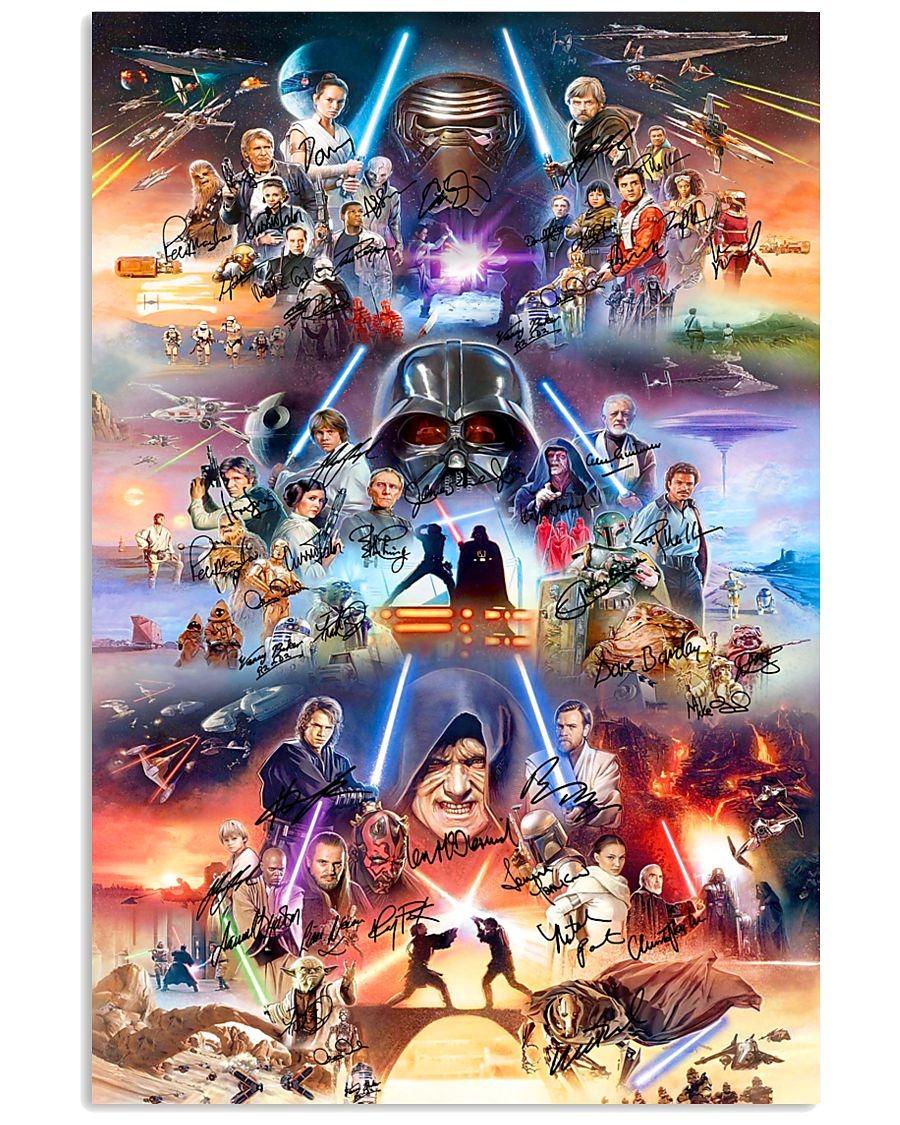 Star Wars Rise Of Skywalker Signatures Poster Tagotee