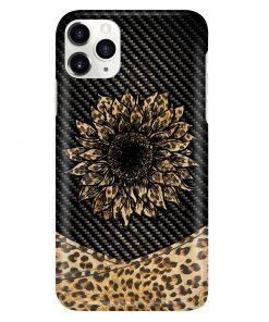 Sunflower Leopard Skin phone case 11
