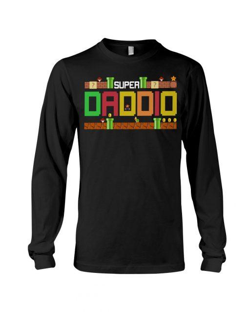 Super Dadio Mario game Long sleeve