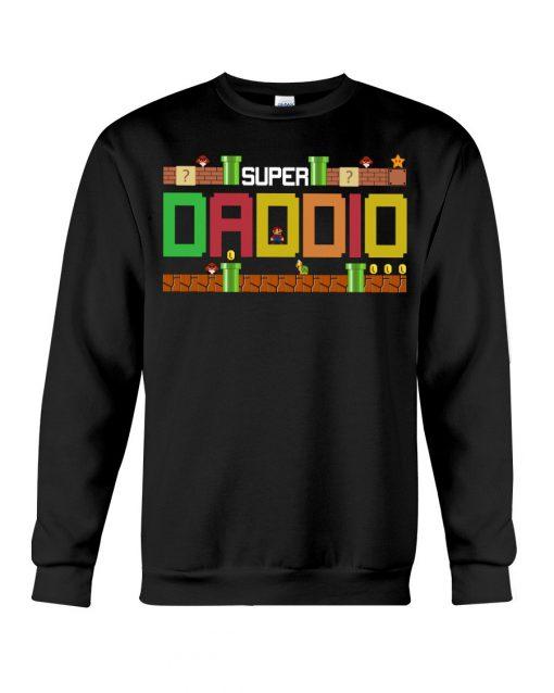 Super Dadio Mario game Sweatshirt