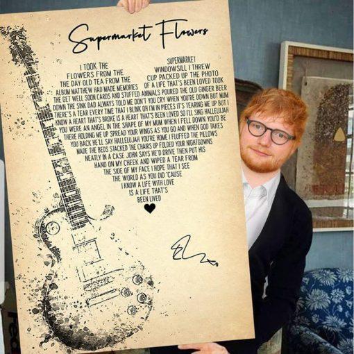 Supermarket Flowers Lyrics poster