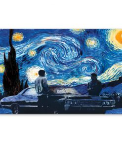 Supernatural car - Starry Night poster1