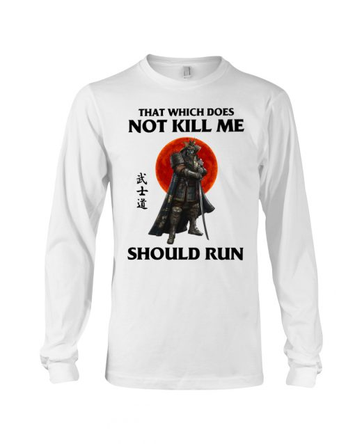 That which does not kill me should run long sleeved
