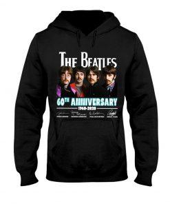 The Beatles 60th Anniversary 1960-2020 Hoodie