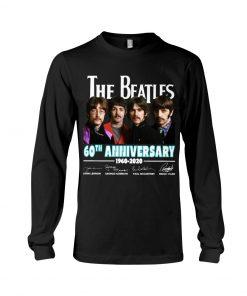 The Beatles 60th Anniversary 1960-2020 Long sleeve