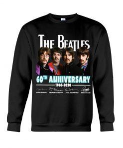 The Beatles 60th Anniversary 1960-2020 Sweatshirt