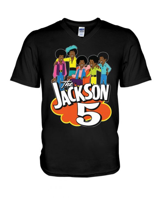 The Jackson 5 V-neck