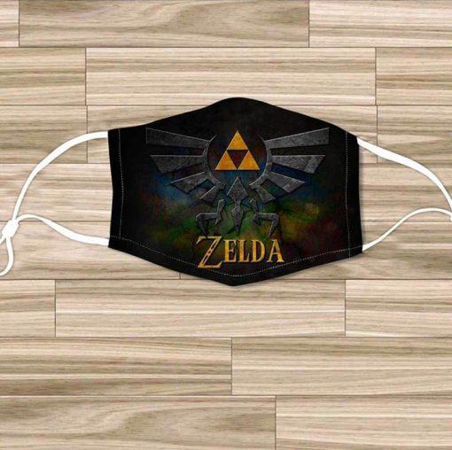 The Legend of Zelda Logo cloth mask
