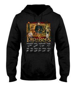The Lord of the Rings signatures hoodie