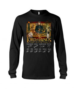 The Lord of the Rings signatures long sleeved
