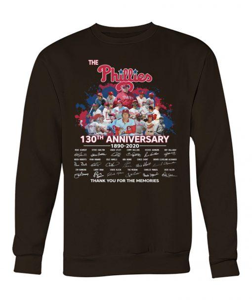 The Philadelphia Phillies 130th Anniversary 1890-2020 sweatshirt
