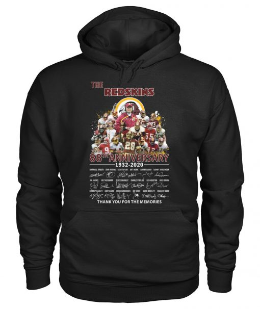 The Redskins 88th Anniversary 1932-2020 signatures Hoodie