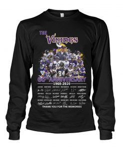 The Vikings 60th Anniversary 1960-2020 long sleeved