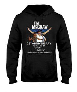 Tim McGraw 28th Anniversary 1992-2020 Hoodie