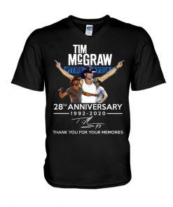 Tim McGraw 28th Anniversary 1992-2020 V-neck