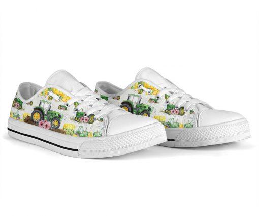 Tractor Garden Low Top Shoes5