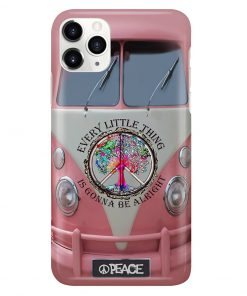 VW Volkswagen Bus Every little thing is gonna be alright phone case 11