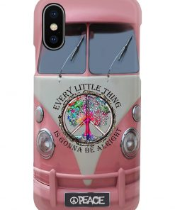 VW Volkswagen Bus Every little thing is gonna be alright phone case x