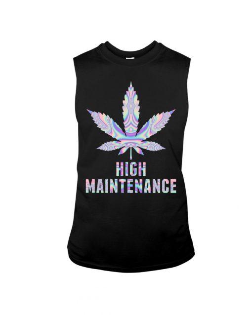 Weed High Maintenance Tank top