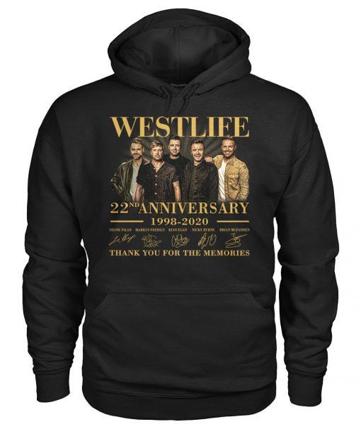 Westlife 22nd Anniversary 1998-2020 Hoodie