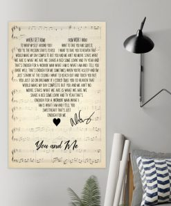 You and Me - Alice Cooper Lyrics poster