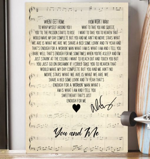 You and Me - Alice Cooper Lyrics poster1